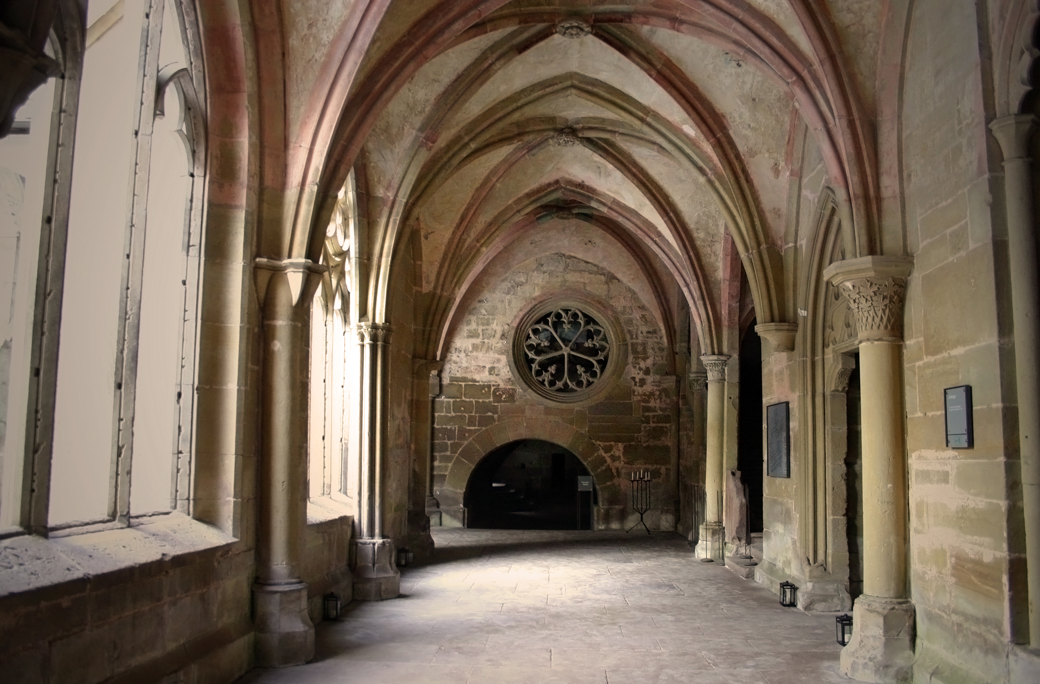 Eastern Hall With Huge Gothic Windows And Chapter House In The Important Congregations Took Place Here Friars Would Meet To Discuss
